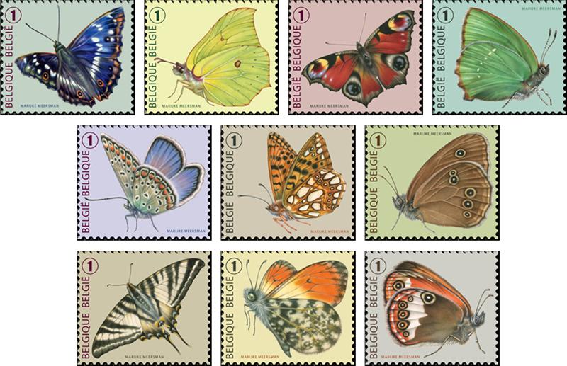 10-vlinderzegels-2013