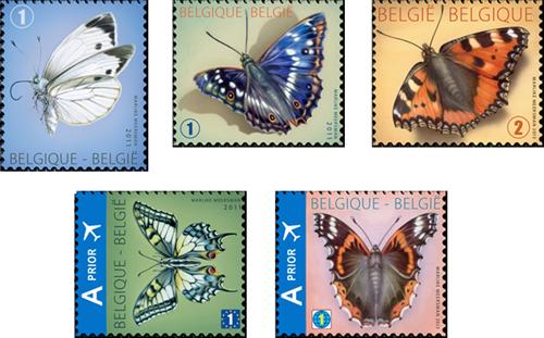 5-postzegels